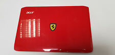 """Acer Ferrari One Fo200 LCD Back Cover Lid 11.6"""" Red 39ZH6LCTN20 Eazh6005010"""