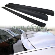 For Mercedes benz E-Class W212 Rear Window Visor Roof Spoiler E350 E250 4D Sedan