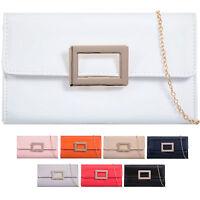 Ladies Patent Envelope Clutch Bag Evening Bag Wedding Handbag Clasp Purse K73006