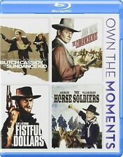 Butch Cassidy Sundance Kid/The Comancheros/A Fistful Of Dollars/Horse Soldiers