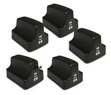 HP02 Photosmart 5 PK Ink Cartridges BLACK  C7280 C8180 D7160 3110 8250 D7360