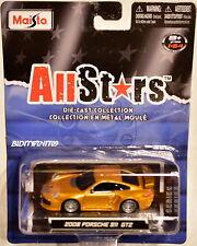 MAISTO ALLSTARS 2008 PORSCHE 911 GT2 GOLD