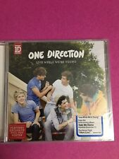 One Direction Live While We're Young CD Features Excusive Pull Out Poster