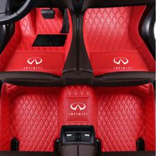 Floor Mats For ALL INFINITI G37 G35 G25 Sedan Front Rear Liner Auto Mat Carpets