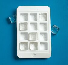 2-PACK Silicone iPhone App Ice Cube Tray - iCubes by Gama-Go NIB