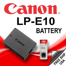 New LP-E10 Battery for Canon EOS T3, T5,1100D, 1200D, 1300D Digital Camera
