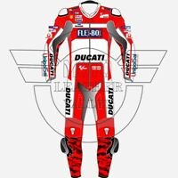 Ducati Corse Motorbike Leather Suit Motorcycle Racing Custom Made Any Color