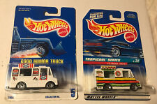 Hot Wheels Lot Of 2 Good Humor Truck #5 #693