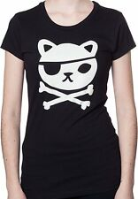Slim Ladies Fit Glow in the Dark Octonauts Calico Jack T-Shirt NWT size XL SALE