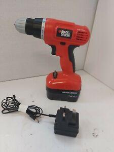Black & Decker 14.4V Cordless Drill *Full Working Order* D2