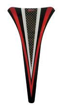 kanzel-front-pad 3d 550002 CARBONO Tiras Rojo protección para HONDA CBF 1000