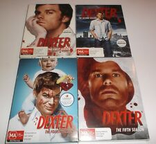 DEXTER SEASONS 1,2,4 & 5 DVD SERIES