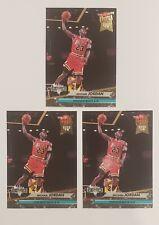 1993-94 Fleer Ultra Michael Jordan Jam Session #216 Chicago Bulls. LOT of 3!
