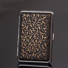 Holder 14 Cigarette Retro Pattern Leather Cigarette Case Waterproof Box Gift