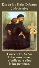 SPANISH All Souls Day Prayer Card (wallet size)