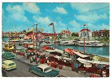 Willemstad, Curacao Floating Fishing Market, N.A., continental size postcard