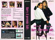 VIDEOCASSETTA VHS HARRY, TI PRESENTO SALLY - Meg Ryan, Billy Crystal