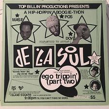 """DE LA SOUL - EGO TRIPPIN' PART TWO (12"""") 1993!!  RARE!!  PRINCE PAUL + LA JAY!!!"""