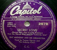 """RAY ANTHONY """"O mein Papa (Oh! My Papa) / Secret Love"""" Capitol 1953 78rpm 10"""""""