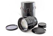 Canon New FD NFD 135mm f/2 MF Lens w/ Canon Circular Filter Free Ship #213130