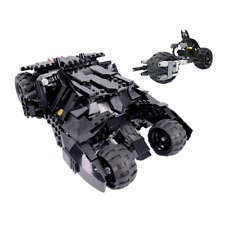 Custom Lego Batman Tumbler w/ Batpod Version2.0 7888 76023 70917 7781 7784 76087