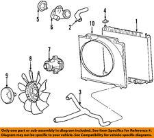 FORD OEM 97-98 E-150 Econoline Club Wagon-Radiator Cooling Fan Blade F7UZ8600CA