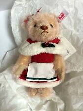More details for mrs claus teddy bear by steiff - ean 021640 no 10 out of 1225 ltd edition