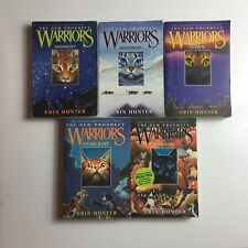Warriors the New Prophecy: 1-5 by Erin Hunter (2006, Paperback) Lot of 5