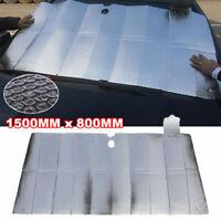 "59X31"" Car Windshield Sun Shade Cover Visor Shield Protector Foldable Reflective"