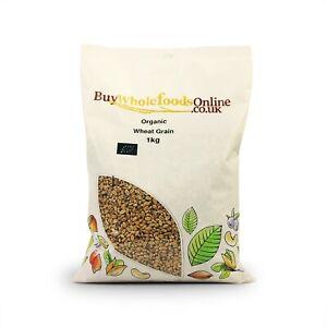 Organic Wheat Grain 1kg | Buy Whole Foods Online | Free UK Mainland P&P