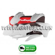 KTM 150XC XC 150 2013-2015 White Polisport Plastics Kit Fairing Panel Set