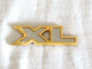 """2002-2006 GMC 24K GOLD PLATED ENVOY """"XL"""" EMBLEM - 15133077"""