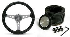"SAAS Sports 14 "" 350mm Steering Wheel & Boss Kit Holden Gemini TE, TF, TX, RB"