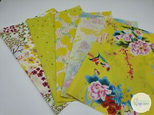 Decopatch Paper, Decoupage Paper, YELLOW Half Sheet Collection Pack