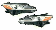 FITS TOYOTA CAMRY 2018-2019 XSE HEADLIGHTS HEAD LIGHTS FRONT LAMPS PAIR