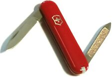 Victorinox Swiss Army Prince Blade And Nail File Toothpick Tweezers Red 7876BOX