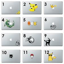 "Pokemon Macbook sticker Mccbook Pro Decal MAcbook Air 11"" 13"" 15"" 12"" Apple"