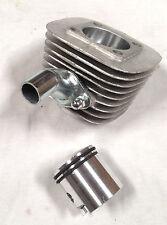 66 / 80cc engine motor parts - Silver 8mm wider intak port cylinder piston rings