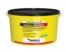 Weber.tec 960  Reflexionsschutzanstrich 1K Schönheits Hellgrau 24kg Dachbereich
