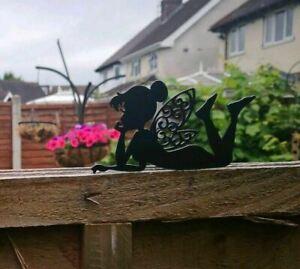 Lay Down Fence Top Fairy Pixie Garden