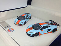 1/43 Scale Peako Model Mclaren MP4-12C GT3 & MP4-12C Gulf Special Edition