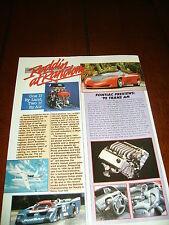 1988 PONTIAC BANSHEE CONCEPT CAR  ***2 ORIGINAL ARTICLE'S***