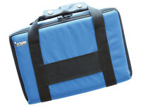 DART CASE Extra Large Quality Multi Pack Dart Board BLUE Carry Case Wallet