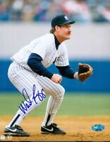 Wade Boggs Yankees Signed 8x10 Photo Psa/dna Autograph