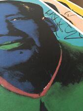 Mao Art Print (3pc) andy Warhol Monopoly Kaws Dillon LITHOGRAPH  Large