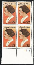 US #2146 22¢ Abigail Adams Plate Block MNH