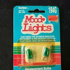 Barjan Mood Lights 2pc replacement bulbs 12V,194G interior indicator, side marks