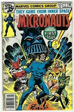 Micronauts # 1 VF+ Marvel 1978 1st Appearance Of The Micronauts