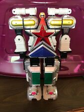 Power Rangers Deluxe Super Zeo Megazord 1996 Bandai Nearly Complete Lot Of 5
