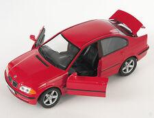 BLITZ VERSAND BMW 328i  rot / red Welly Modell Auto 1:24 NEU & OVP